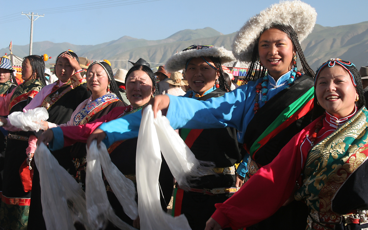 V.I.P Treatment in the Tibetan Plateau